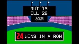 "Illinois ""RBI Baseball"" 28-13 Win over Rutgers"