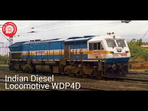 Indian diesel locomotive WDP4D