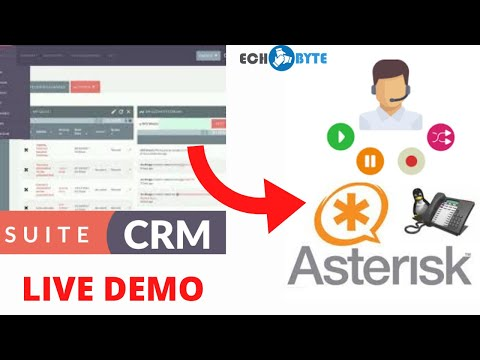 SugarCRM  / SuiteCRM Click to Call Asterisk