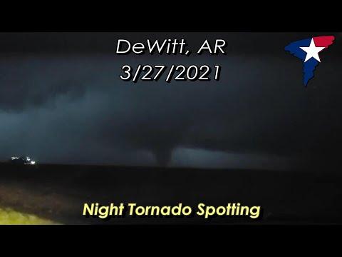 March 27, 2021 • Eastern Arkansas Night Tornado, Lightning & Damage