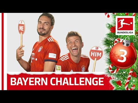 Mats Hummels vs. Thomas Müller - Me or Him Challenge | Bundesliga 2018 Advent Calendar 3