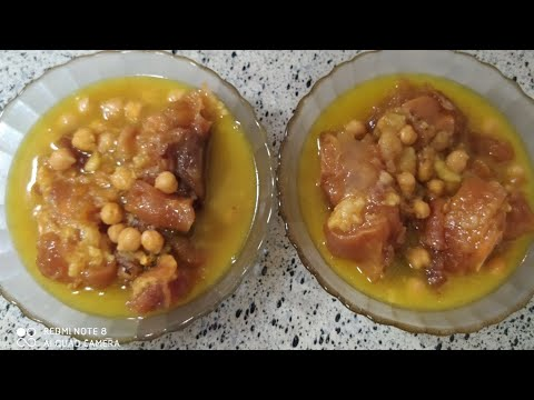 #Soeasy #Afghancook how to make afghan cow legs recipe  طرز تهیه پاچه گاو