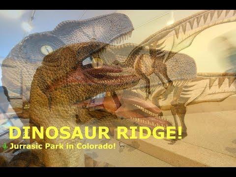Dinosaur Ridge! The Jurassic Park in Colorado! //Sanchez Fun