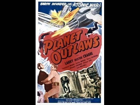 [Western] Planet Outlaws (1953) Buster Crabbe, Constance Moore, Jackie Moran