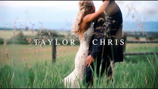 Taylor + Chris    Montana Wedding