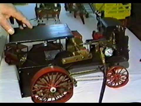 Handmade Farm Equipment Models