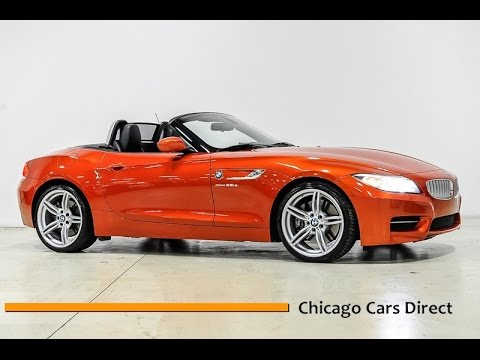 Chicago Cars Direct Reviews Presents A 2017 Bmw Z4 Sdrive35is Valencia Orange E634290