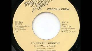 Wreckin Crew- Found The Groove 198x