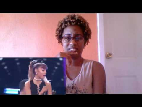 Ariana Grande  Greatest Hits Finale  Whitney Houston Medley(Reaction)