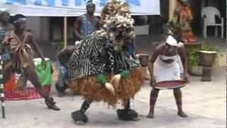 Repeat youtube video African Mask Dance GLAH OF COTE D'IVOIRE by AANINKA