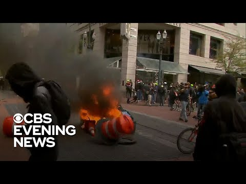 Police brace for potentially violent protests in Portland