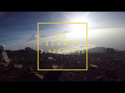 Pendakian ke Gunung Slamet, Highest Mountain in Central Java