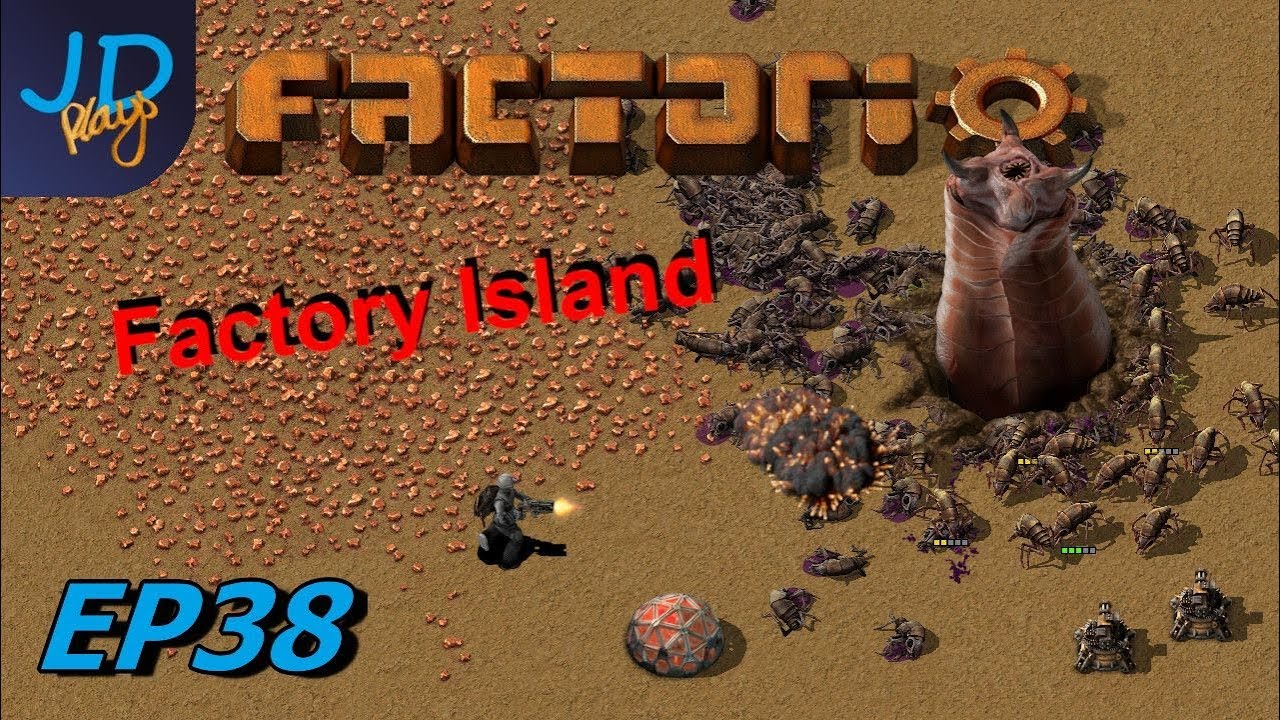 Factorio 0 17 | Factory Island EP38 Level 3 Module production | Tutorial,  Guide, Lets Play