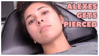Our Piercing Apprentice Alexes Gets Pierced!!