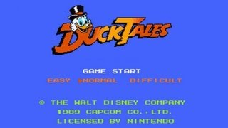 Duck Tales (NES) Complete Walkthrough