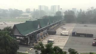 Malaysian Haze from Subang Toll 14th Sept 2015