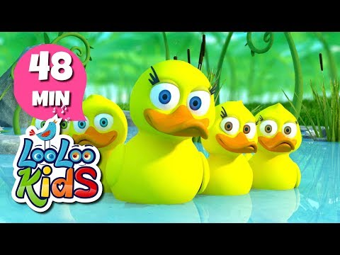 Five Little Ducks - THE BEST Nursery Rhymes and Songs for Children | LooLooKids