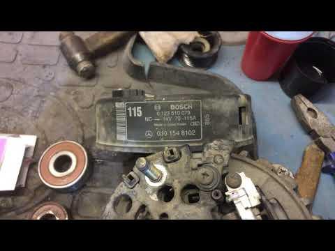 Мерседес Мл 320/W-163: ремонт генератора