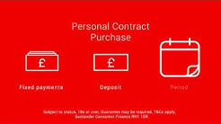 Santander Consumer Finance Personal Contract Purchase