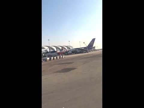 Amazing Push Back! IndiGo 6E 76. Bangkok (BKK) to Kolkata(CCU). Plane Spotting.