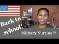 Nursing Update: ICU Life, Moving, Military Nursing???