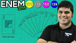 ENEM 2015 Matemática #4 - Frações Equivalentes, Números Decimais e Porcentagem