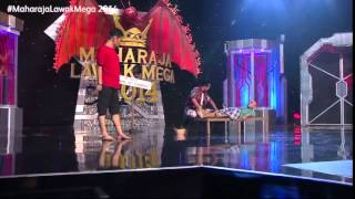 Maharaja Lawak Mega 2014 - Kerusi Panas 1 (Ekzos)