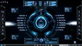 "Skins - Instalacion de ""Escritorio Futurista - Futuristic Desktop"""