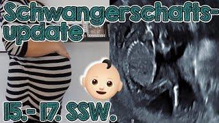 Schwangerschaftsupdate 15. - 17. SSW. | Peinlicher Krankenhausbesuch 🤭