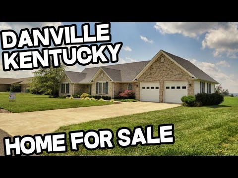 Homes for sale danville kentucky youtube for Kentucky home builders