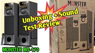 Audionic Monster Ms-170 Unboxing Sound Test Review BY KHALID MEHMOOD