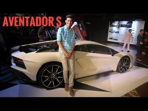 Indian Kid takes Ferrari 458 Italia to Lamborghini Aventador S Launch | Supercar Vlog