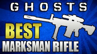 """Call Of Duty: Ghosts - """"Best Marksman Rifle in Ghosts!"""" - Breakdown/Class Setup - (COD Multiplayer)"""