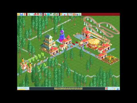 RollerCoaster Tycoon Deluxe- Forest forester part 1  