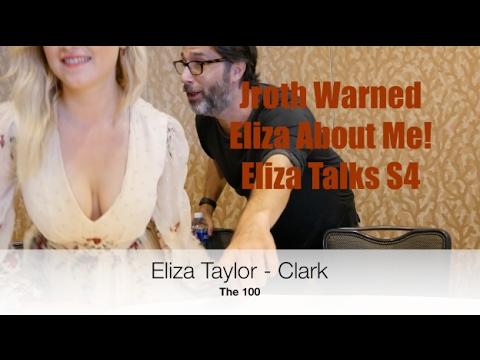 Eliza Taylor Talks The 100 Season 4! Clexa Love