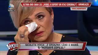 WOWBIZ (25.09.2017) - Nicoleta Voica, in lacrimi! Fratele ei a murit la 19 ani! Partea I
