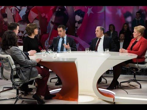 ZDF | Türken in Deutschland – spaltet Erdogan das Land? | maybrit illner