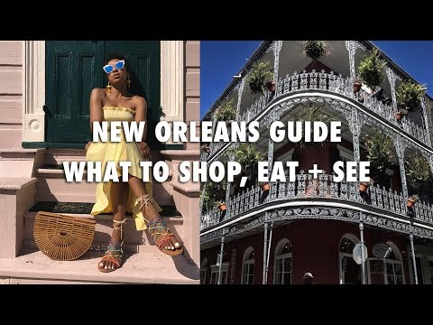 NEW ORLEANS TRAVEL GUIDE + A GIVEAWAY!! | OUTFITS, FOOD, JAZZ FEST