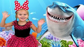 Baby Shark | Sweet Emily Nursery Rhymes & Kids Songs education