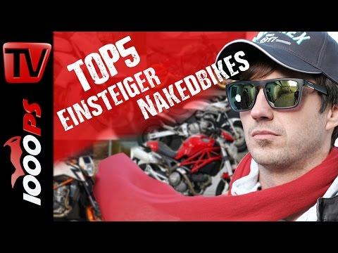 Top 5 Einsteiger Nakedbikes - Nakedbikes die gut fahren aber wenig kosten
