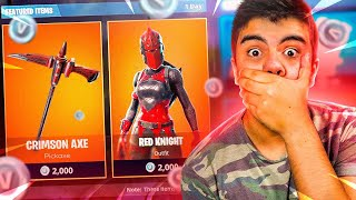 SEASON 2 'S LEGENDARY RED KNIGHT SKIN CAN RETURN TO FORTNITE: BATTE ROYALE! timide