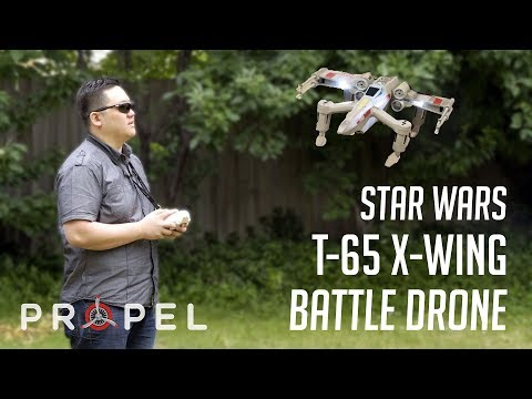 Star Wars T-65 X-Wing Battle Drone - Propel | Unboxing & Review