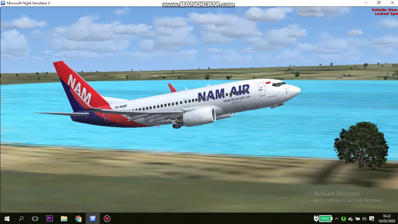 NAM Air IN275 DPS - JOG Flight Simulator X - YouTube
