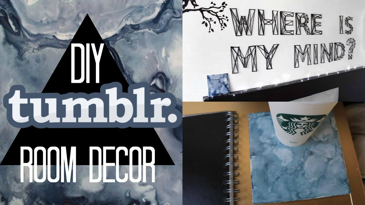 Diy decoraci n para tu rec mara tumblr diy tumblr for Decoracion para pared de recamara
