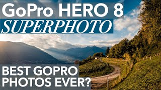 GoPro Hero 8 Photo Quality comparison and test of Superphoto (Hero8 vs Hero 7)