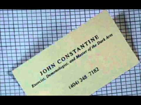 constantine business card message youtube