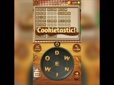 Special Level Word Cookies Chocolate