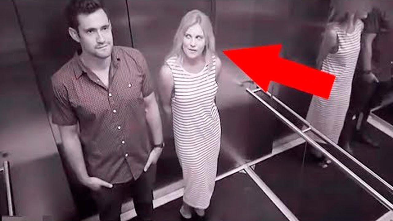 อุบัติเหตุ ทั่วโลก Top 15 Weird And Funny Elevator Moments Caught On Camera #2