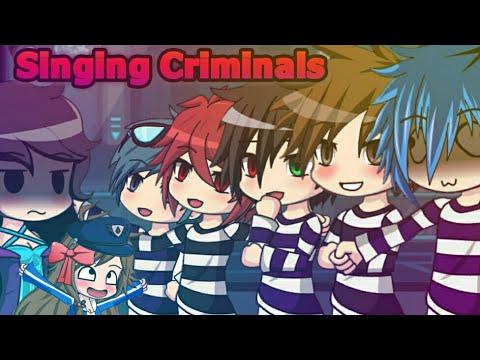 Gacha Studio | The singing Criminals | 😂