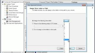 Windows 7 Spanned Volume,Merge Partitions in Windows 7|free partition software thumbnail